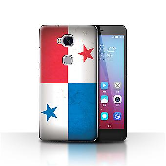 STUFF4 Case/Cover for Huawei Honor 5X/GR5/Panama/Panamanian/Americas Flag