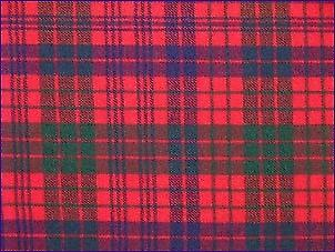 Ross Red, Modern - Pure Wool Tartan