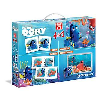Clementoni Edukit 4 in 1 Finding Dory (Toys , Educative And Creative , Electronics)