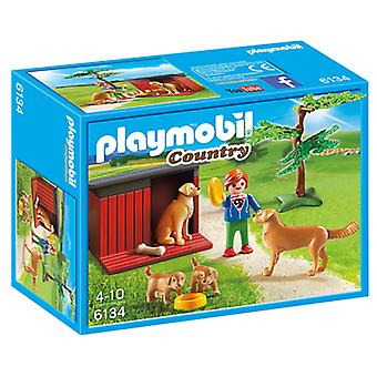 Playmobil 6134 Familia Golden Retriever