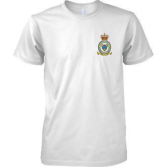 Estação de RAF Shawbury - Royal Airforce t-shirt cor