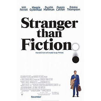 Stranger Than Fiction Movie Poster (11 x 17)