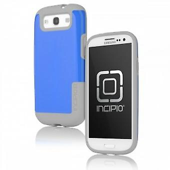 Incipio SA-309 Faxion cover case Samsung Galaxy S3 i9300 grey/blue