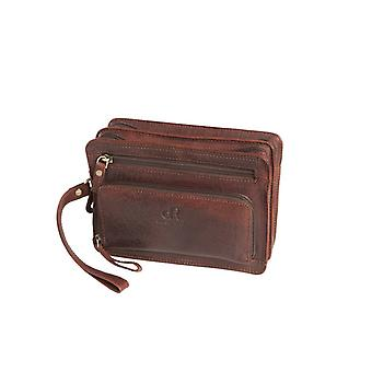 Dr Amsterdam medium sized men's bag Icon Brown