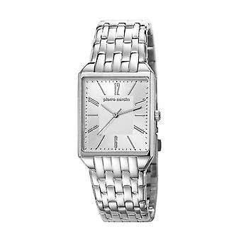 Pierre Cardin ladies Unisex Watch wristwatch CHEMIN NEUF silver PC106691F05