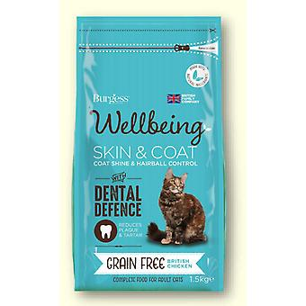Burgess Wellbeing Grain Free Skin & Coat Chicken 1.5kg
