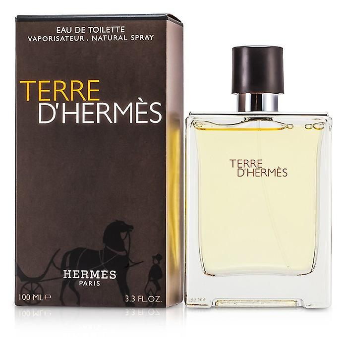 Terre D'Hermes Eau De Toilette Spray 100ml/3.4oz
