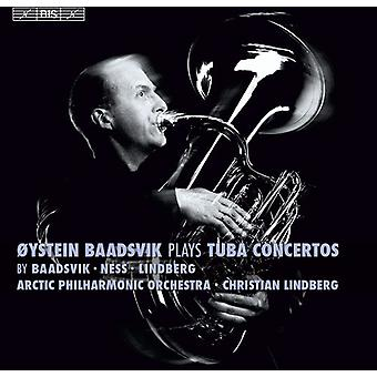 Baadsvik/Arctic Phil Orch/Lindberg - Laurence Baadsvik spelar Tuba nackdelar [SACD] USA import