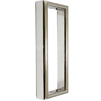 180 mm シャワーのドア ハンドル |18 cm (7 インチ) 穴に |ステンレス鋼