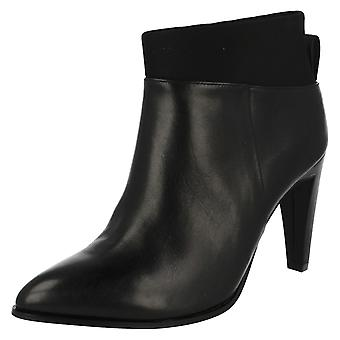 Ladies Clarks High Heeled Ankle Boots Azizi Posey