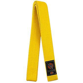 Hayabusa Karate Belt - Yellow - kimono taekwondo