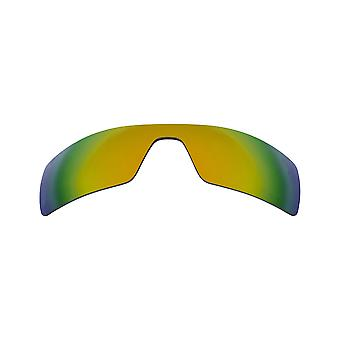 New SEEK Polarized Replacement Lenses for Oakley OIL RIG 24K Gold Mirror