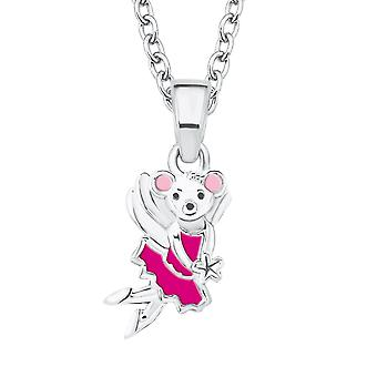 Princess Lillifee child kids necklace silver mouse 2017990