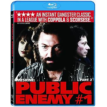 Mesrine-Pt. 2-Public Enemy # 1 [BLU-RAY] USA import