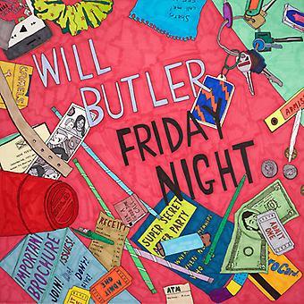 Will Butler - importación de Estados Unidos la noche del viernes [vinilo]