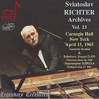 Sviatoslav Richter - Svjatoslav Richter arkiver, Vol. 15 [CD] USA importerer
