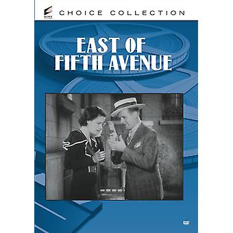East of Fifth Avenue [DVD] USA import
