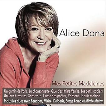 Alice Dona - Mes Petites Madeleines [CD] USA import