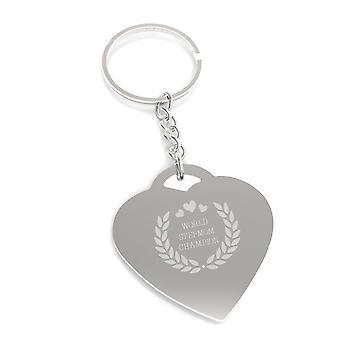 World Stepmom Champion Keychain Cute Gift Ideas For Stepmothers