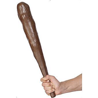 Keule für Höhlenmann Urmensch Kostüm 50cm quietscht