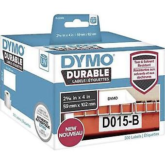 DYMO Labels (roll) 102 x 59 mm PE film White 300 p