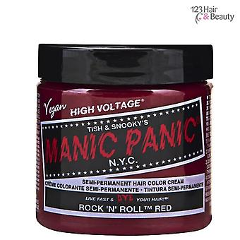 Maníaco pánico Manic Panic Semi – permanente cabello Color - Rock N Roll rojo