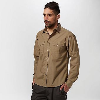 Craghoppers mannen Kiwi lange mouwen Shirt
