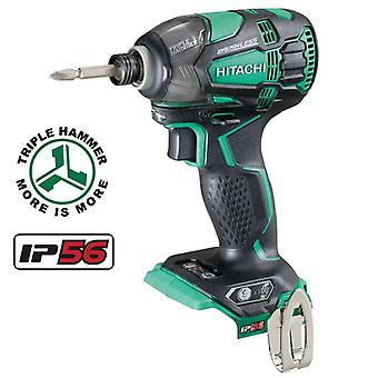 Hitachi WH18DBDL2/W4 18v Brushless Impact Driver Body Only
