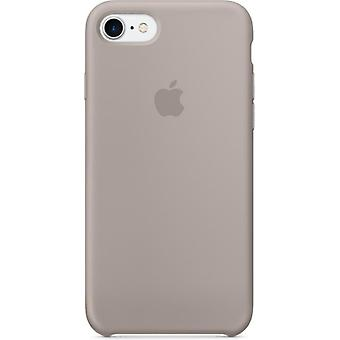 Apple Silicon Micro Fiber cover case for iPhone 8 / 7 - grey