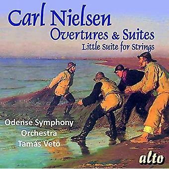 Odense Symfoniorkester Tamas Veto - Nielsen: Tilnærmelser & Suites [CD] USA import