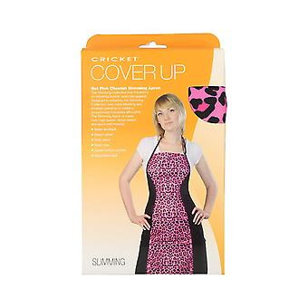 Cricket Cover Up Hot Pink Cheetah Slimming Stylist Apron