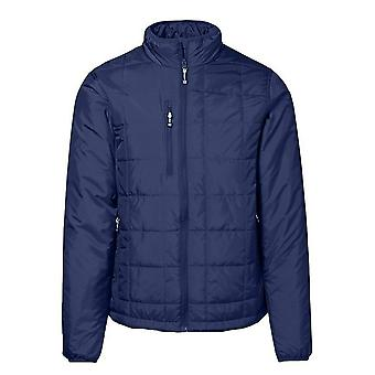 ID Mens Quilted Regular Fitting Full Zip Jacket