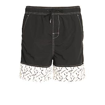 BELLFIELD Skoll Swim & Board Shorts | Black