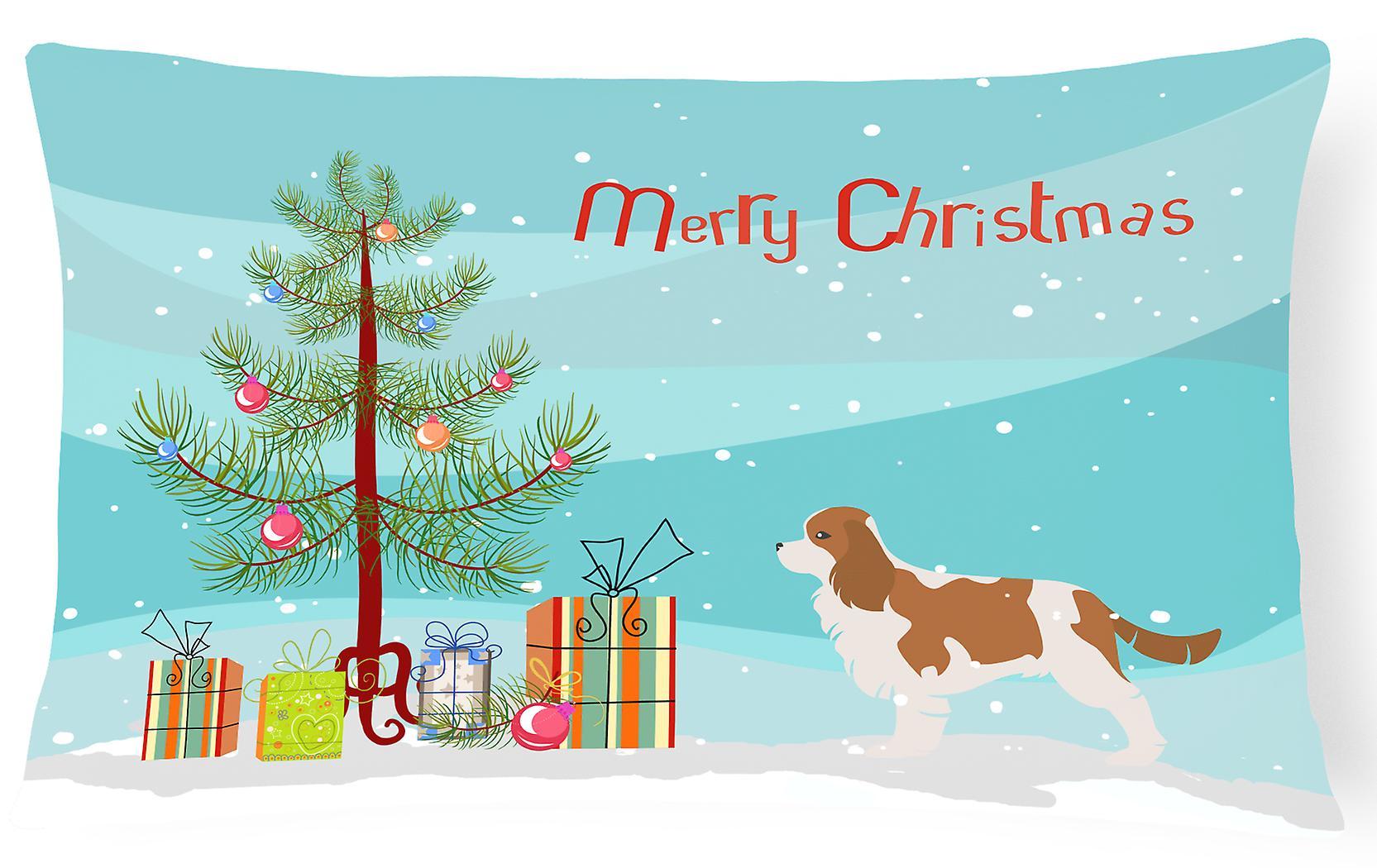 Pilule Décoratif King Tissu Merry Cavalier Charles Christmas Toile Tree Spaniel 8wm0nN