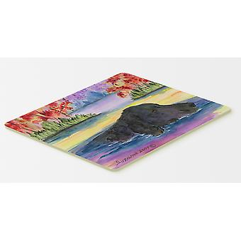 Carolines Treasures  SS8043CMT Curly Coated Retriever Kitchen or Bath Mat 20x30