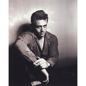 James Dean - Sitting Poster Poster Print