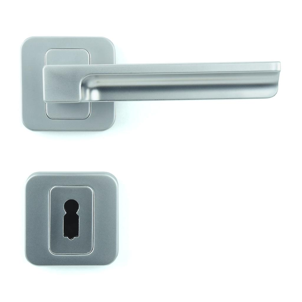 Premium Quality M4TEC ZA5 Interior Door Handle – Made Of Die-Cast Zinc – Gloss Chrome-Plated Finish – Sturdy, Durable & Easy To Install – Elegant & Classy Design - Ideal For Room Entrance Doors