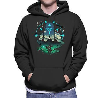 Legend Of Zelda Breath Of The Wild Wild Adventurer Men's Hooded Sweatshirt