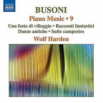 Busoni / Harden - Piano Music [CD] USA import