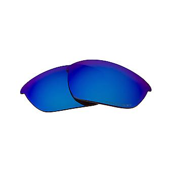 Replacement Lenses Compatible with OAKLEY HALF JACKET Asian Fit Blue Mirror