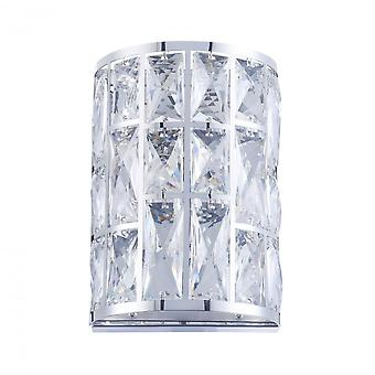 Maytoni Lighting Gelid Modern Collection Sconce , Chrome
