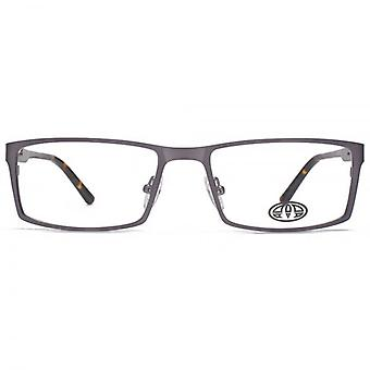 Animal Evans Combination Rectangle Glasses In Gunmetal