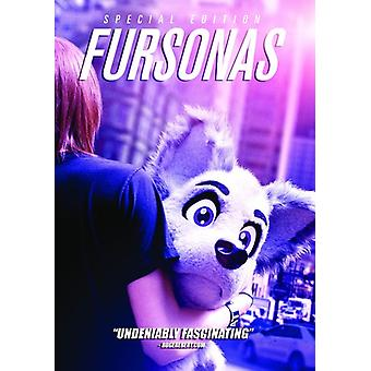 Fursonas [DVD] USA import