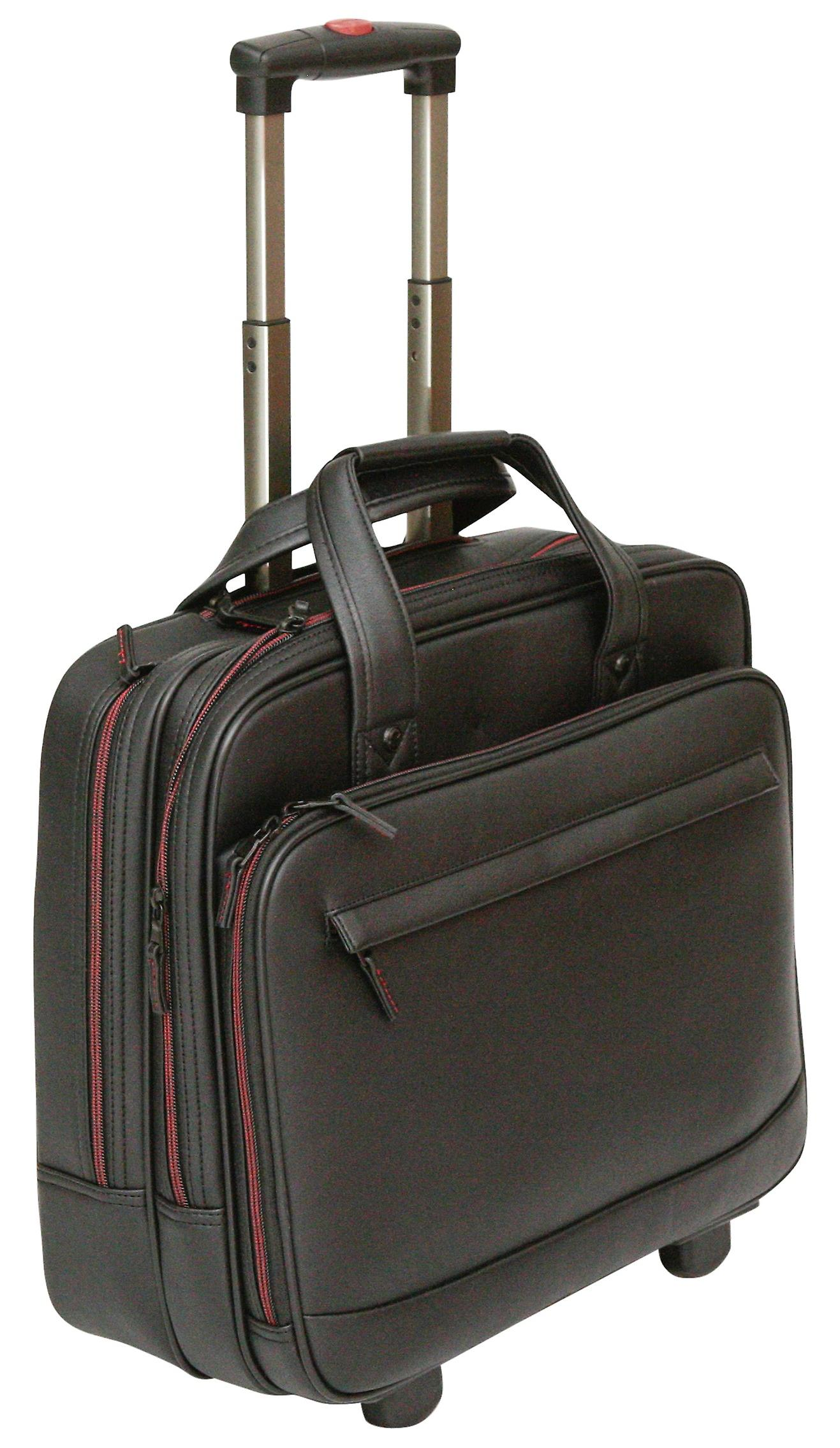 Tassia Wheeled Laptop Case Fits Up To 15.6