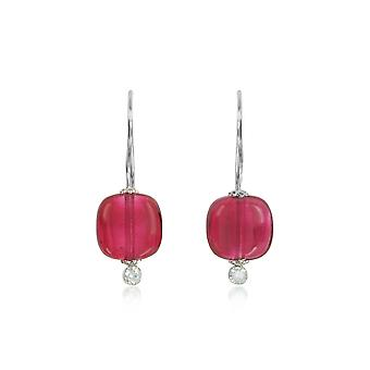 Antica Murrina ladies OR549A99 Red Steel earrings