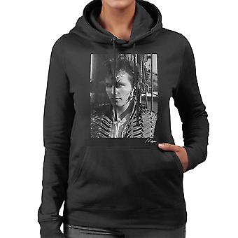 Adam Ant Prince Charming Black And White Women's Hooded Sweatshirt