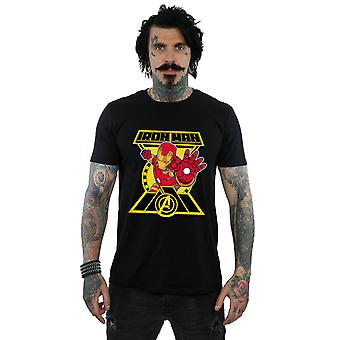 Marvel Men's Avengers Iron Man Logo T-Shirt