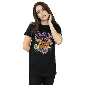 Scooby Doo Women's The Amazing Scooby Boyfriend Fit T-Shirt
