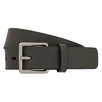 Strellson belts men's belts leather belt grey 2301