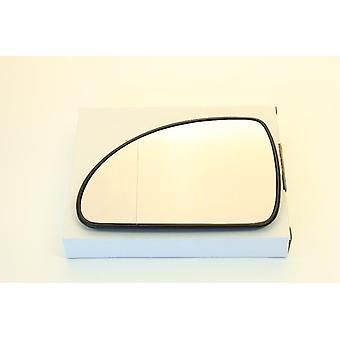Left Mirror Glass (Heated) for Kia PRO CEED 2008-2013 Note Mirror Shape in image